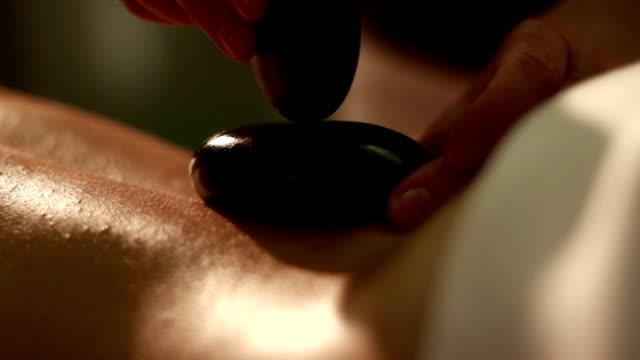 massage stones video