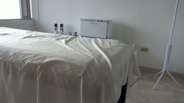 Massage Table, Spa, Masseuse video
