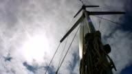 HD: Mast Of A Sailing Boat video
