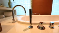 Master bathroom in a luxury home video
