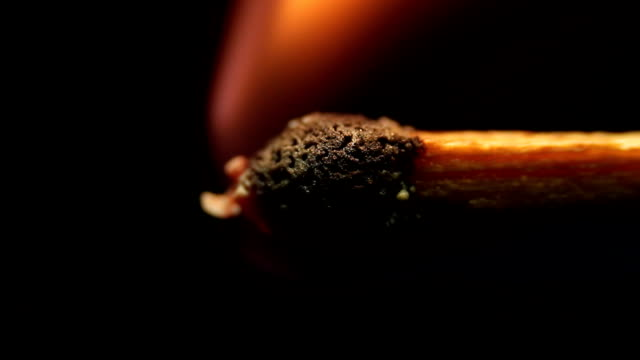 match burning video