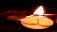 match lights a candle video