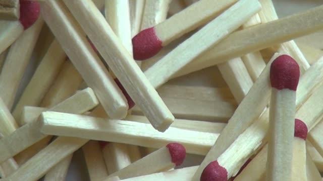 Matches, Match Sticks, Fire video