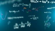 Math Symbols loop. video