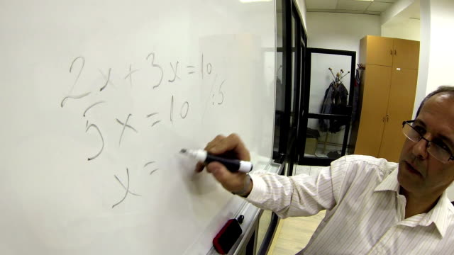 Math Teacher at Work video