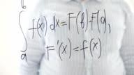 Mathematical analysis. Newton-Leibnitz formula. video