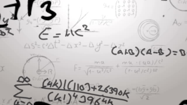 Maths Background video