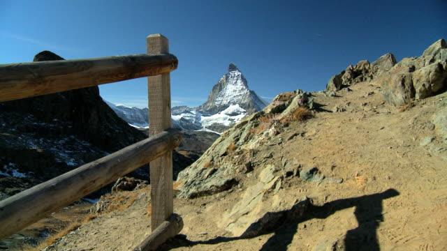 Matterhorn in Zermatt,Switzerland video