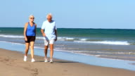 Mature Couple Keeping Fit video