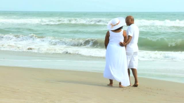Mature Ethnic Couple Peaceful Retirement Lifestyle video