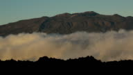 Mauna Kea, Clouds and Lava Fields video