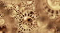 Mayan Aztec Inca Calendar Gears Animation video