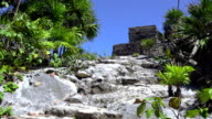 Mayan Ruins - Up The Stone Path to the Church video
