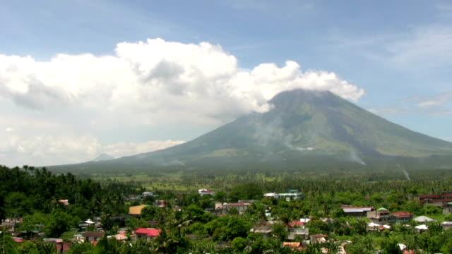 HD: Mayon Volcano video