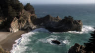 Mc Way Falls California Central Coast Locked Wide video