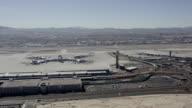 McCarran International Airport Las Vegas Aerial Video video