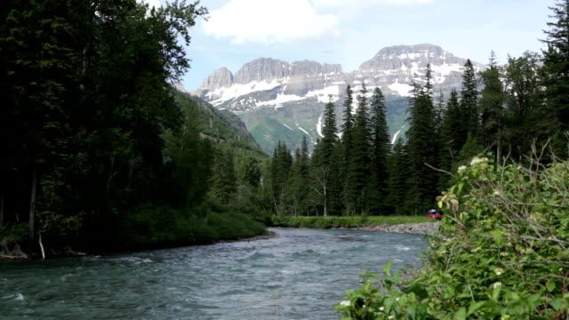 McDonald Creek Going-to-the-Sun Road Garden Wall Glacier National Park video