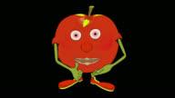 Mcintosh Apple-Transparent/Alpha video