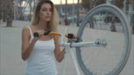 Me and my bicycle (slow motion) video