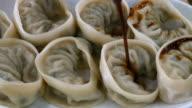 Meat dumplings with soy sauce video