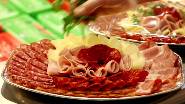 Meat platter video