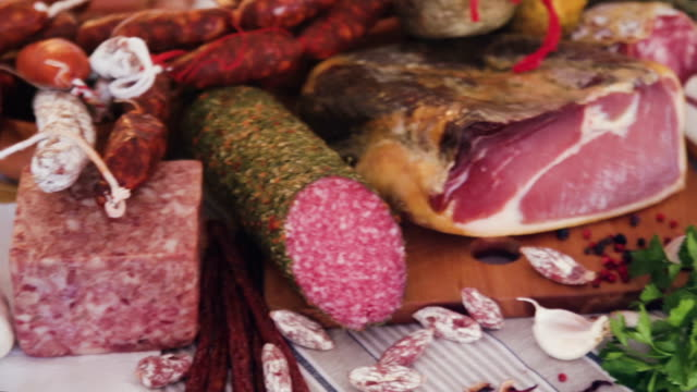 meat products video