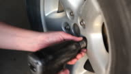 Mechanic Using Impact Wrench to Install Wheel Lug Nuts video