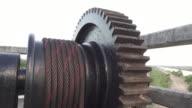 4K DOLLY : Mechanical equipment video