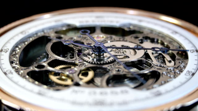 Mechanical watches from the inside video