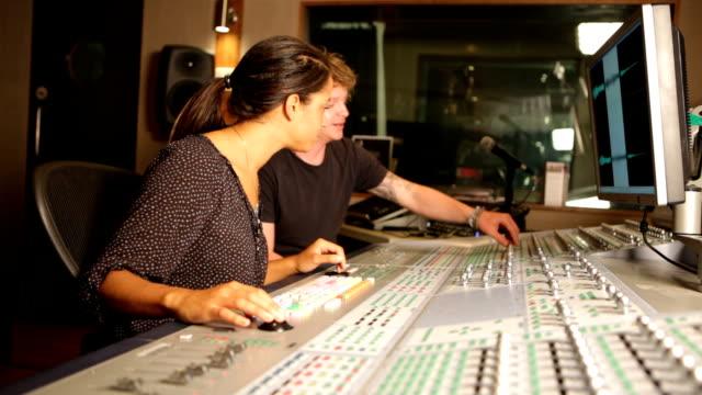 media: audio duo at desk video