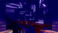 Media background. Freeway. Color - dusk. video