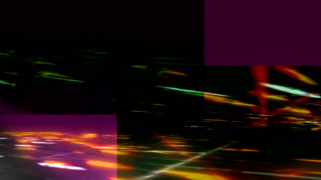 Media background. Freeway. Colorful. video