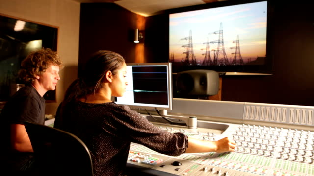 media: behind the mixing desk video