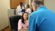 Medical Desk Check In - WS video