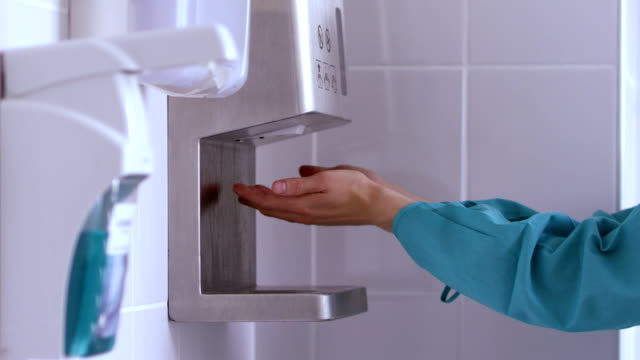 A medical device for disinfecting of hands video