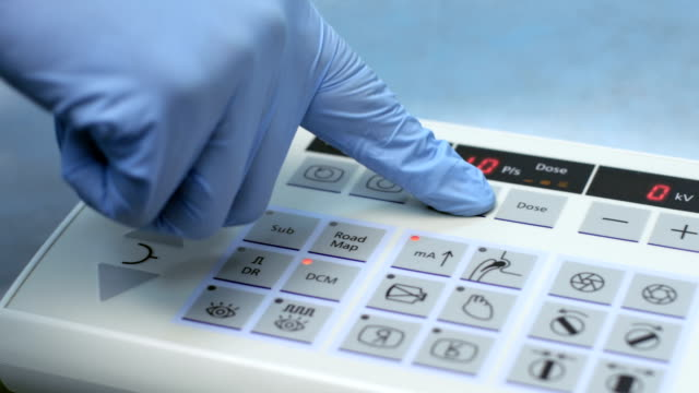 Medical equipment control panel video