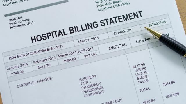 Medical Hospital Past Due Bill video