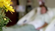 Medical - Hospital Patient - Flowers video