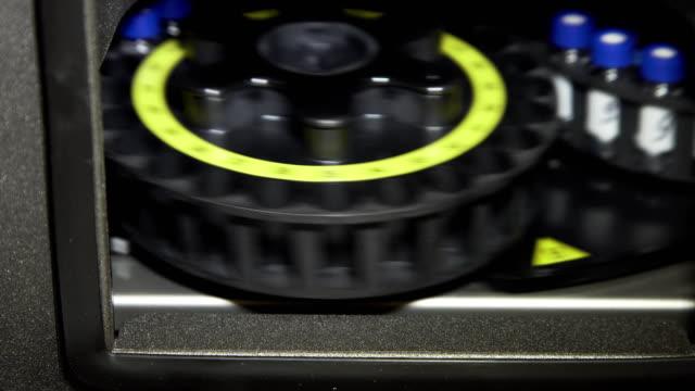 Medical laboratory centrifuge video