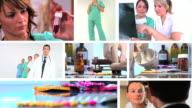 Medical montage video