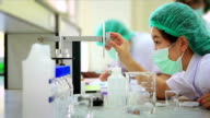 Medical students are tested chemically video