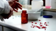 medicine and drugs. capsules video