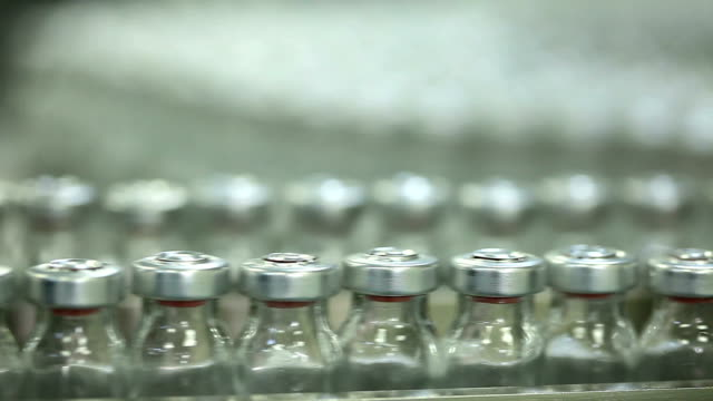 Medicine Bottles In Pharmaceutical Factory 1 video