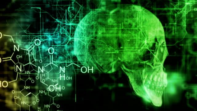 Medicine Chemistry Skull video