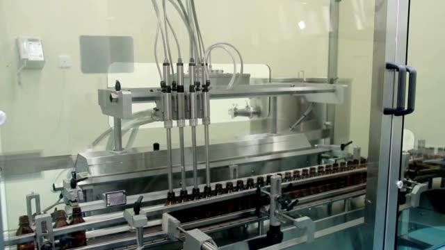 Medicine Production. Liquid. video