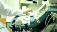 Medicine. Ultrasound exam. video