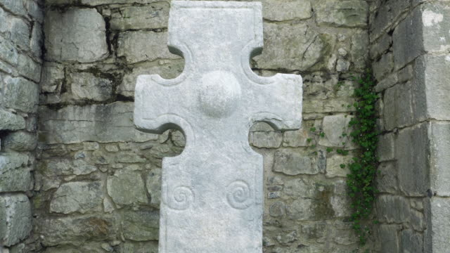Medieval Cross (North Cross) In Kilfenora Cathedral video
