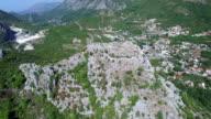 Medieval fortress Haj-Nehaj in Sutomore village video