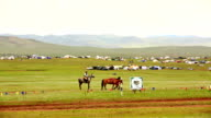 Medieval Horse Archer Shows, Mongolia video