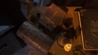 HD CRANE: Medieval Scribe Table video